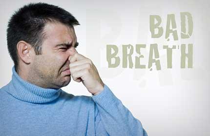 درمان بوی بد دهان (هالیتوز)